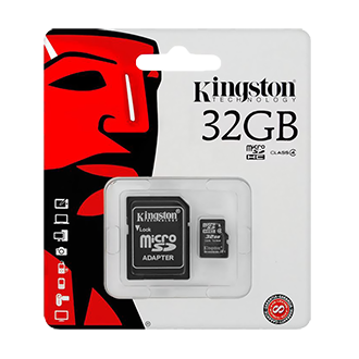 Карта памяти SDmicro Card 32GB Kingston (SDC10G2/32GB) class 10