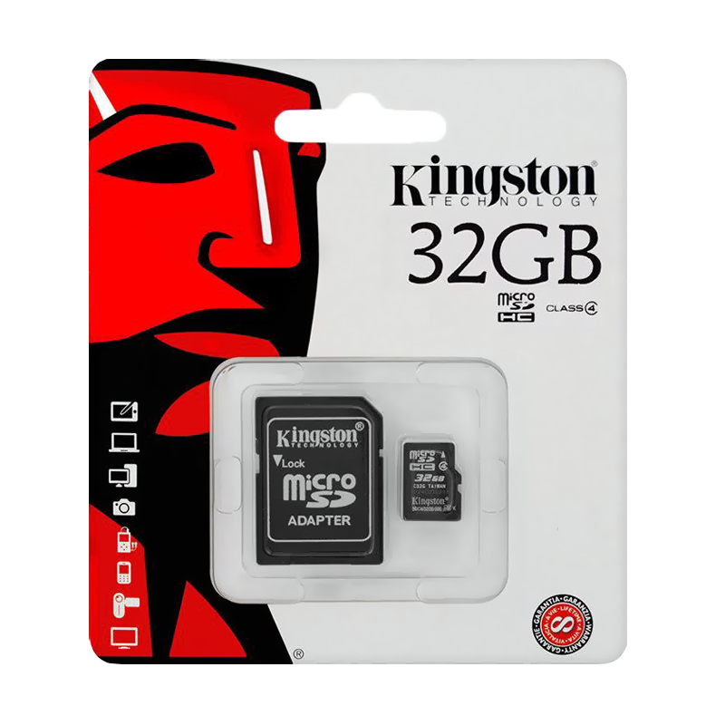 Карта памяти Kingston Micro SDHC 32GB Class 10 U1 UHS-I